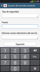 Samsung Galaxy S4 Mini - E-mail - Configurar correo electrónico - Paso 10