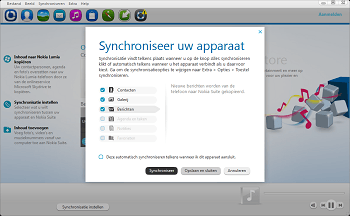 Nokia 216 - Software - Synchroniseer met PC - Stap 3