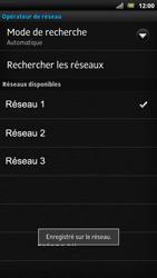 Sony LT22i Xperia P - Réseau - utilisation à l'étranger - Étape 14