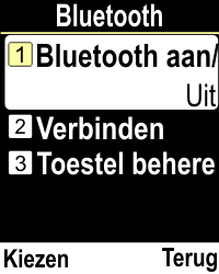 Emporia CLICKplus 3G (Model V32-3G) - Bluetooth - Aanzetten - Stap 4