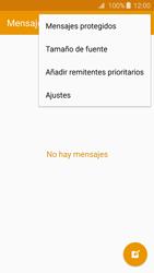 Samsung Galaxy A3 (2016) - Mensajería - Configurar el equipo para mensajes de texto - Paso 5