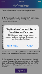 Apple iPhone 5 iOS 10 - Applications - MyProximus - Step 12