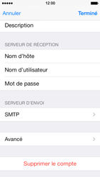 Apple iPhone 5 iOS 7 - E-mail - Configuration manuelle - Étape 23