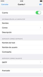 Apple iPhone 6 Plus iOS 8 - E-mail - Configurar correo electrónico - Paso 17