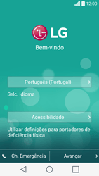 LG C70 / SPIRIT - Primeiros passos - Como ligar o telemóvel pela primeira vez -  5