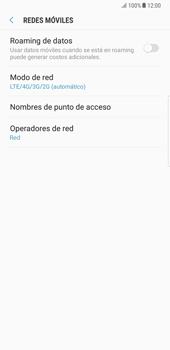 Samsung Galaxy Note 8 - Red - Seleccionar el tipo de red - Paso 6