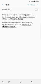 Samsung Galaxy Note 8 - Android Oreo - Wi-Fi - Como ligar a uma rede Wi-Fi -  6