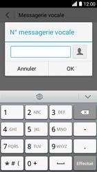 Huawei Ascend Y530 - Messagerie vocale - Configuration manuelle - Étape 7