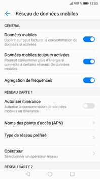 Huawei Mate 9 - Réseau - Utilisation à l