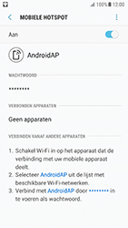Samsung Galaxy S7 - Android N - WiFi - Mobiele hotspot instellen - Stap 13