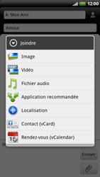 HTC X515m EVO 3D - MMS - envoi d'images - Étape 9