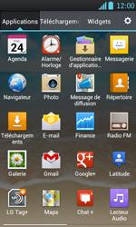 LG P700 Optimus L7 - E-mail - Configuration manuelle - Étape 3