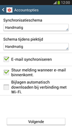 Samsung G386F Galaxy Core LTE - E-mail - Account instellen (IMAP met SMTP-verificatie) - Stap 17