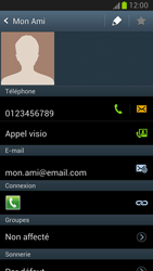 Samsung Galaxy Note 2 - Contact, Appels, SMS/MMS - Ajouter un contact - Étape 15