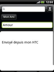 HTC A3333 Wildfire - E-mail - envoyer un e-mail - Étape 6