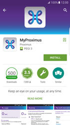 Samsung Galaxy S7 edge (G935) - Applications - MyProximus - Step 7