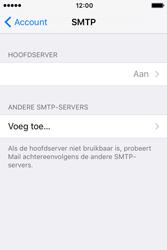 Apple iPhone 4 S iOS 9 - E-mail - Handmatig instellen - Stap 20