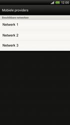 HTC S720e One X - Netwerk - Handmatig netwerk selecteren - Stap 11