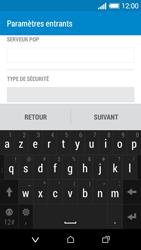 HTC Desire 510 - E-mails - Ajouter ou modifier un compte e-mail - Étape 11