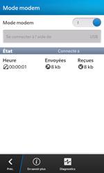 BlackBerry Z10 - Internet et connexion - Utiliser le mode modem par USB - Étape 14