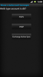 Sony MT27i Xperia Sola - E-mail - Handmatig instellen - Stap 7