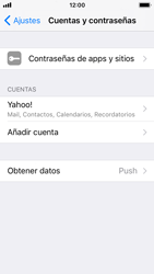 Apple iPhone 5s - iOS 11 - E-mail - Configurar Yahoo! - Paso 9