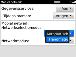 BlackBerry 9780 Bold - Netwerk - Gebruik in het buitenland - Stap 5