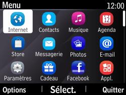 Nokia Asha 210 - Internet - Navigation sur Internet - Étape 2