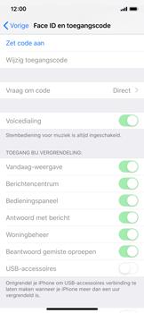 Apple iPhone XS - Beveiliging - stel in of wijzig pincode voor je toestel - Stap 4