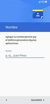 Samsung Galaxy S8 - Primeros pasos - Activar el equipo - Paso 10