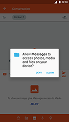 Nokia 8 - Mms - Sending a picture message - Step 12