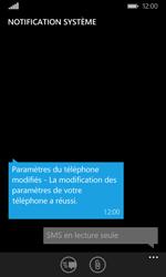 Microsoft Lumia 532 - Paramètres - Reçus par SMS - Étape 5