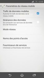 Sony Xperia Z3 Compact - Internet et connexion - Activer la 4G - Étape 8