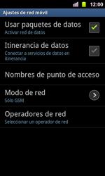 Samsung I8160 Galaxy Ace II - Red - Seleccionar el tipo de red - Paso 8