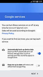 Samsung Galaxy J3 (2017) - Applications - Create an account - Step 18
