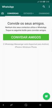 Samsung Galaxy Note 8 - Aplicações - Como configurar o WhatsApp -  14
