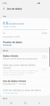 Samsung Galaxy S10 - Rede móvel - Como ativar e desativar uma rede de dados - Etapa 7