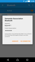 Sony E2303 Xperia M4 Aqua - Bluetooth - connexion Bluetooth - Étape 9