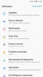 Samsung Galaxy A3 (2017) - Wi-Fi - Como ligar a uma rede Wi-Fi -  4