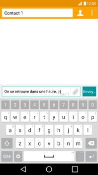 LG G4 - Contact, Appels, SMS/MMS - Envoyer un SMS - Étape 9