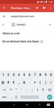 Alcatel 3L - E-mails - Envoyer un e-mail - Étape 9