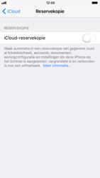 Apple iPhone 7 iOS 11 - iOS 11 - Automatische iCloud-reservekopie instellen - Stap 6