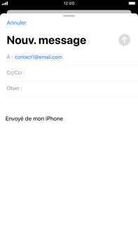 Apple iPhone 7 Plus - iOS 13 - E-mail - envoyer un e-mail - Étape 5