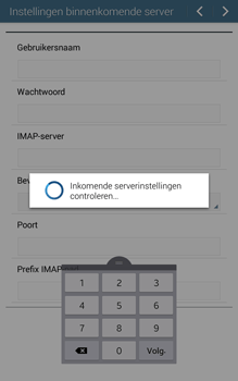 Samsung Galaxy Tab 4 (T335) - E-mail - Handmatig instellen - Stap 11