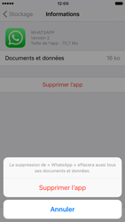 Apple iPhone 7 - Applications - Supprimer une application - Étape 8