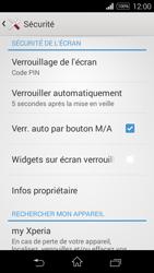 Sony Xpéria E3 - Sécuriser votre mobile - Activer le code de verrouillage - Étape 11