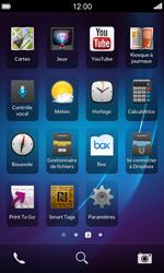 BlackBerry Z10 - Wifi - configuration manuelle - Étape 2