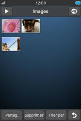 Samsung Wave M - Photos, vidéos, musique - Envoyer une photo via Bluetooth - Étape 5
