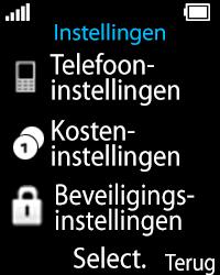 Nokia 108 - Netwerk - Gebruik in het buitenland - Stap 4