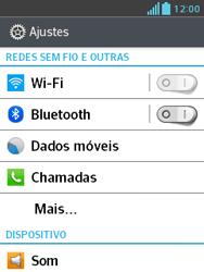 LG E430 Optimus L3 II - Internet (APN) - Como configurar a internet do seu aparelho (APN Nextel) - Etapa 4